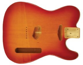 TELE BODY CHERRY SUNBURST